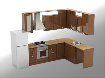 Конструктор кухни on-line