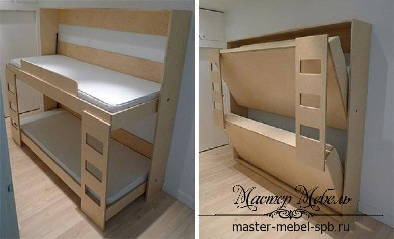 Складная двухъярусная кровать купить спб